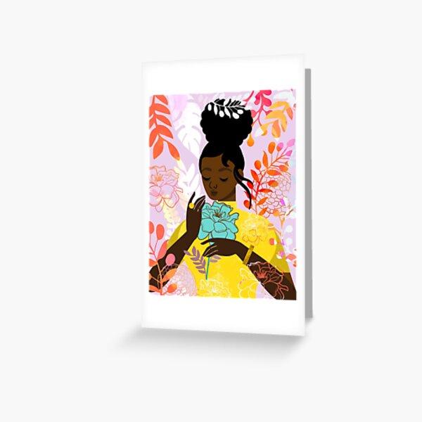 Marigold in October Greeting Card