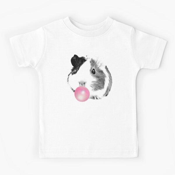 Bubble gum guinea pig  Kids T-Shirt