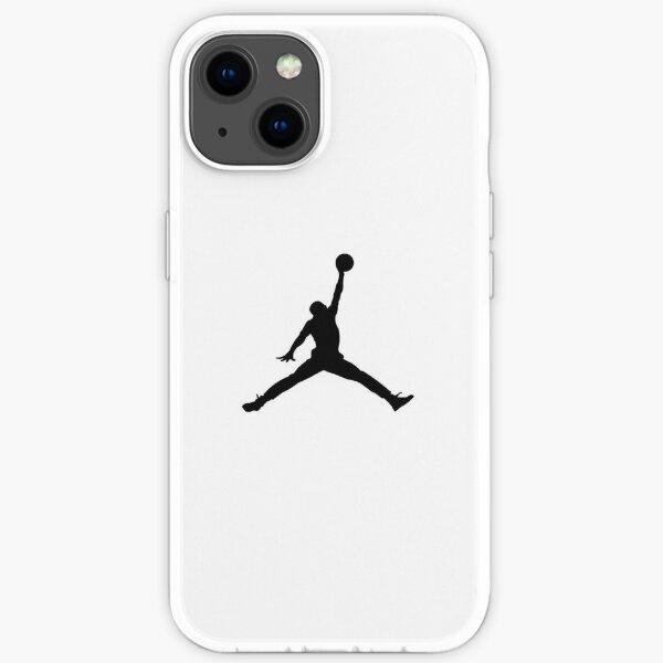 NBA Slam Black & White Coque souple iPhone