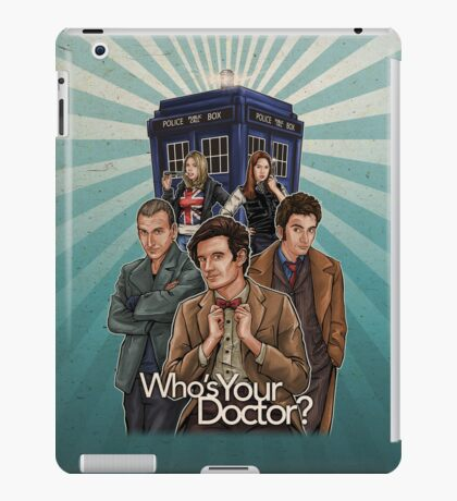 Who's Your Doctor? iPad Case/Skin