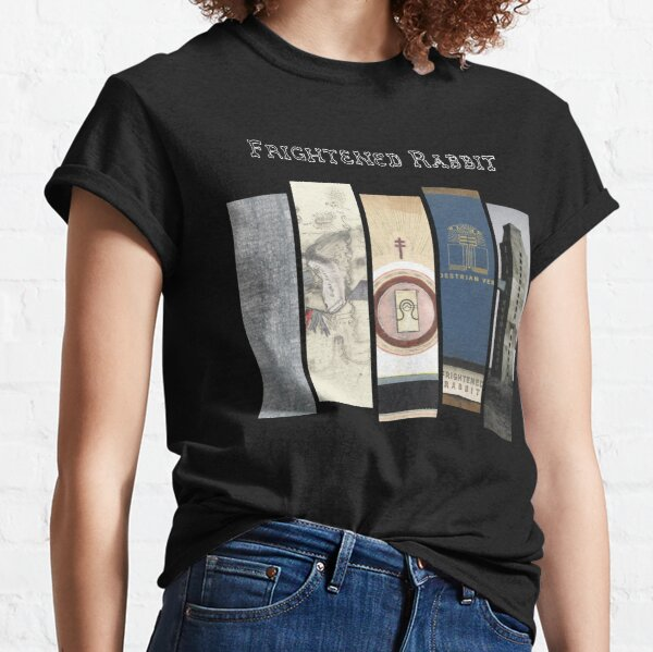 Frightened Rabbit - Album Discography Series Classic T-Shirt