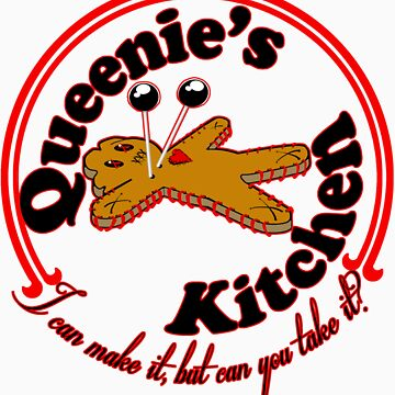 Queenie's Kitchen-red lined by SholoRobo