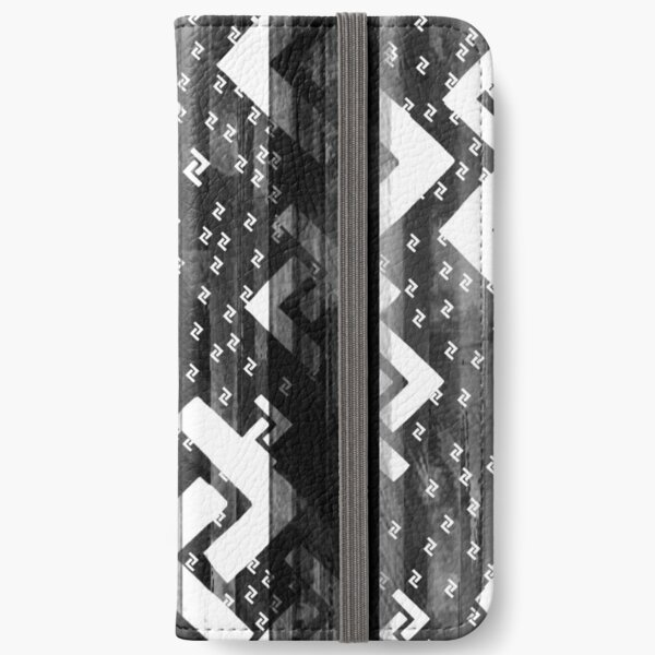 Jera Bright and Grime - Earth - Right Action Rune Black and White iPhone Wallet