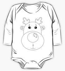 Rudolph the Red Nose Reindeer One Piece - Long Sleeve
