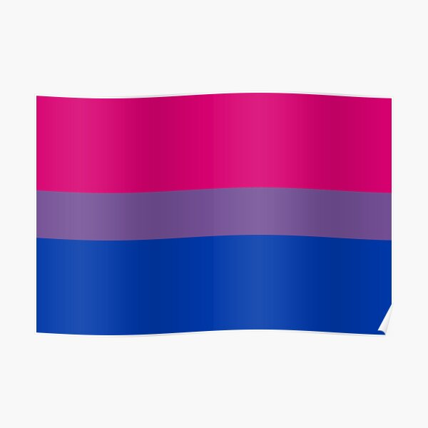 Bisexual Pride Poster