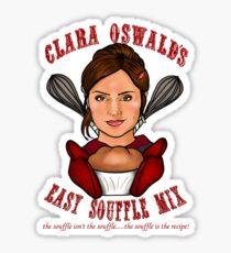 Clara Oswald's Easy Souffle Mix Sticker