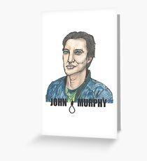 John Murphy Greeting Card