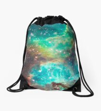 Hubble telescope (Tarantula Nebula) Drawstring Bag