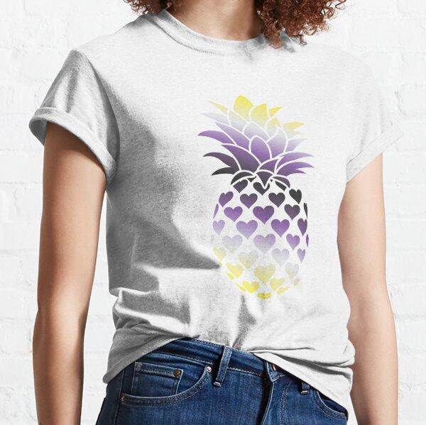 Nonbinary Pineapple Classic T-Shirt