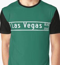 "Las Vegas Blvd. ""The Strip"", Street Sign, Las Vegas, Nevada Graphic T-Shirt"
