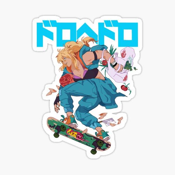 Dorohedoro nikaido  Sticker