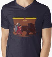 Bear Fight! Mens V-Neck T-Shirt