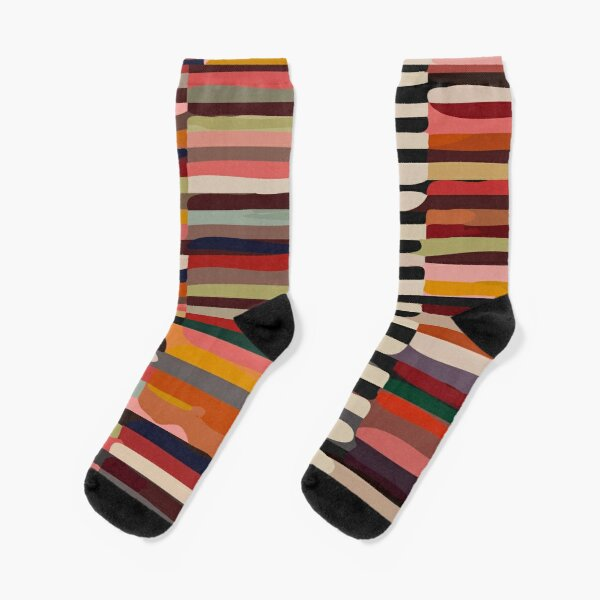 Etchnic Scandinavian Pattern Socks