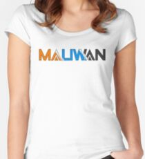 Maliwan Logo V2 Women's Fitted Scoop T-Shirt