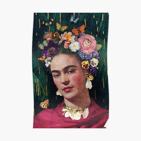 Artiste de t-shirt Frida Khalo Poster