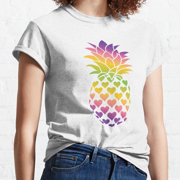 Lesbian Pineapple (Multicolor Version) Classic T-Shirt