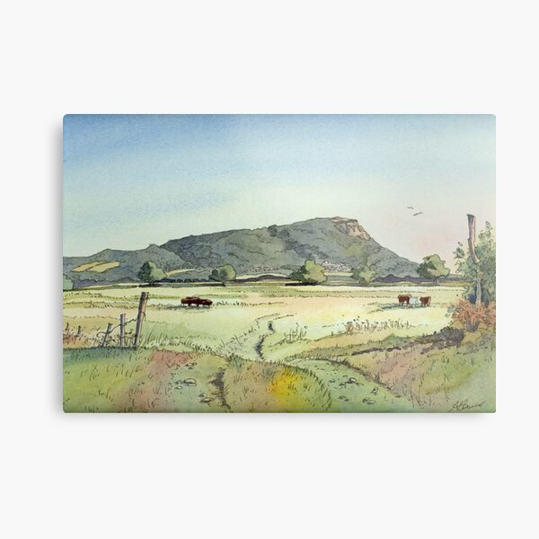 Helsby Hill Metal Print