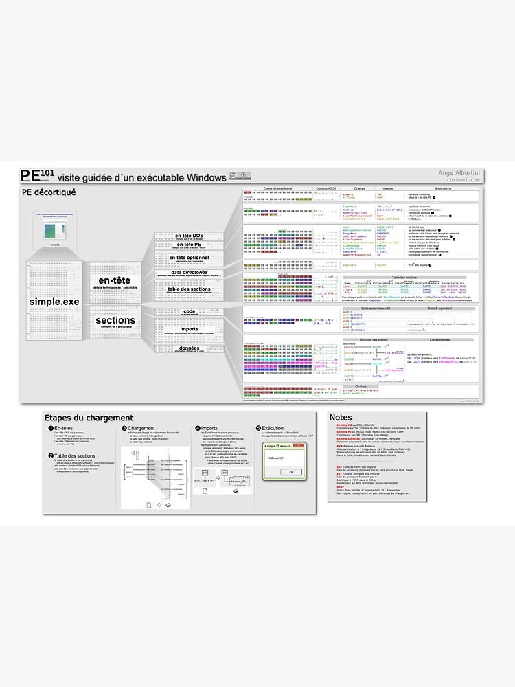PE101 French: Visite guidée d´un exécutable Windows by Ange4771