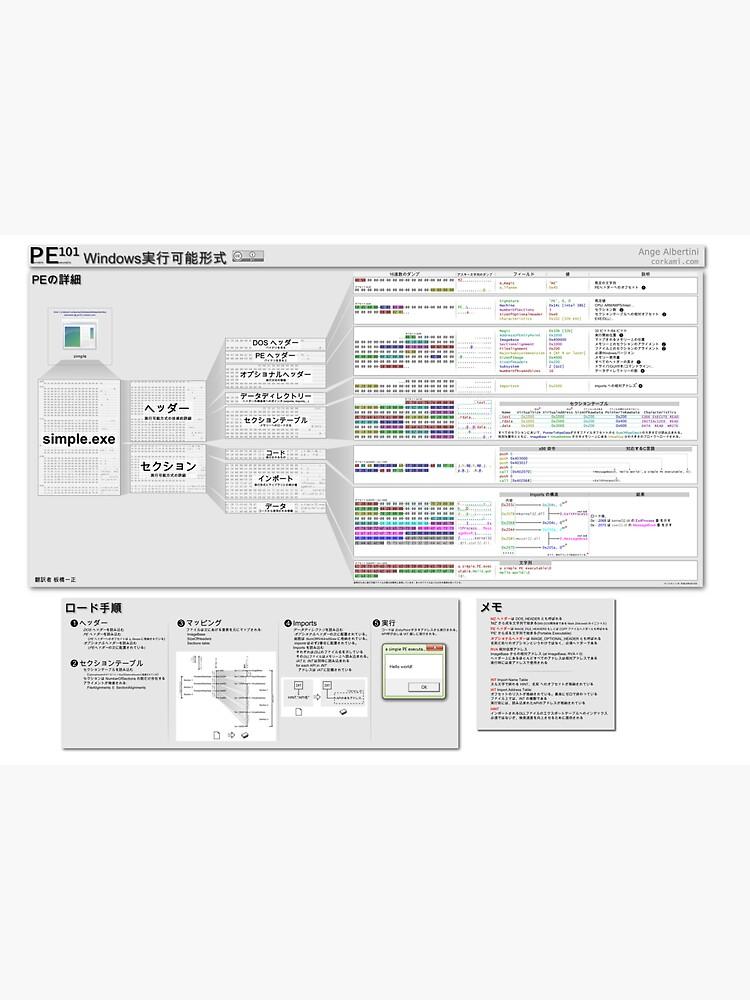 PE101 Japanese: Windows実行可能形式 by Ange4771