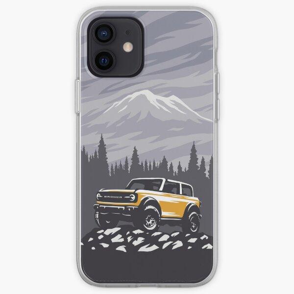 Ford Bronco illustration iPhone Soft Case
