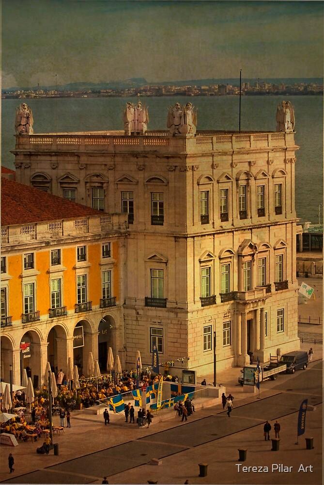 Praça do Comércio. Commerce square. Lisbon by terezadelpilar ~ art & architecture