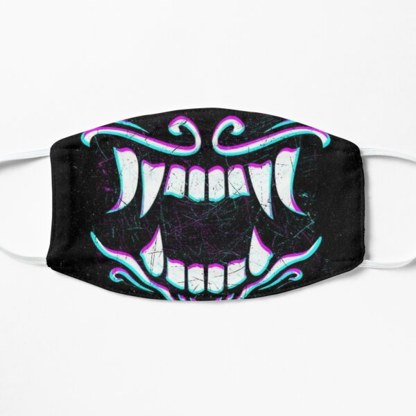 AKALI'S SMILE Flat Mask