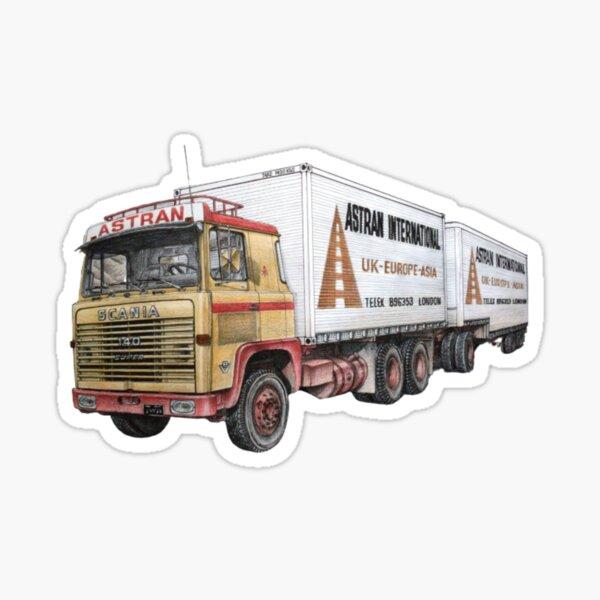 Camión Scania Vintage Pegatina