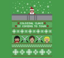 Colossal Claus Sweater + Card  | Unisex T-Shirt