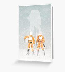 Subtle Seasons greeting Greeting Card