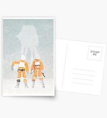 Subtle Seasons greeting Postcards