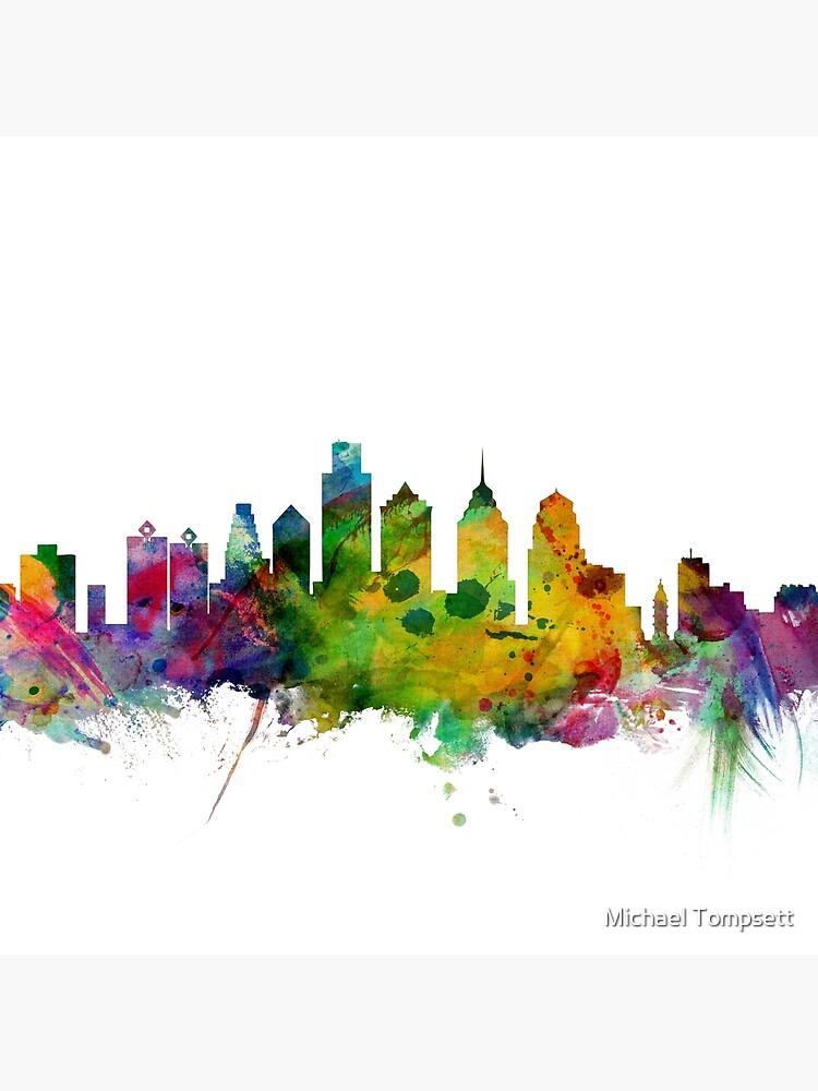 Skyline von Philadelphia von ArtPrints
