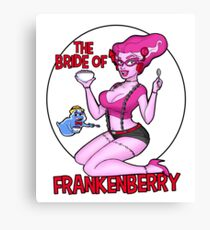 The Bride of Frankenberry Canvas Print