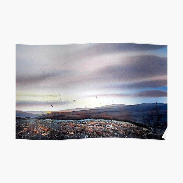 North Yorkshire Moors at Dawn Poster