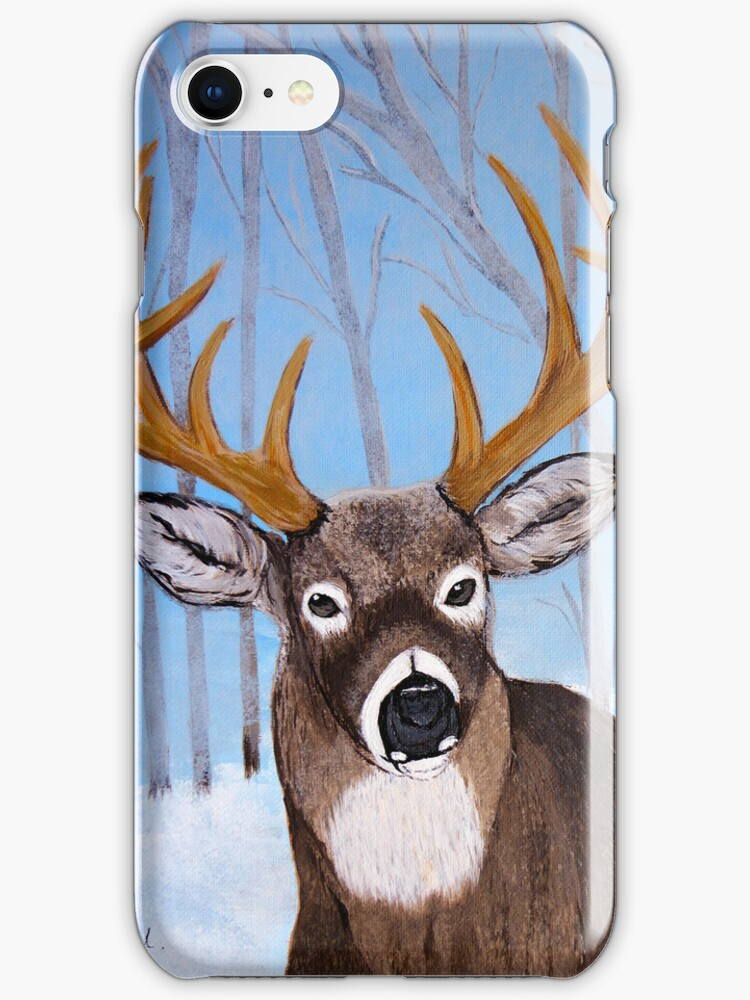 Winter Buck by maggie326