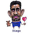 Diego Costa by Iddoggy