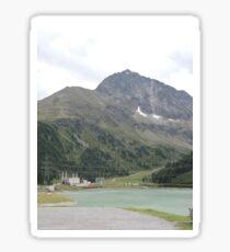 Mountain Lake, Austria Sticker