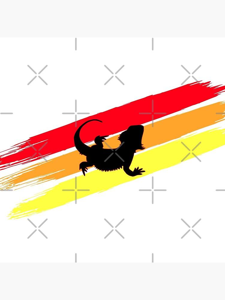3 Stripe Rainbow Bearded Dragon by snibbo71