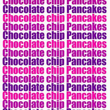 Chocolate chip Pancakes / Starbright Series #1 by realitysabotage