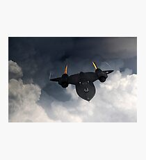 SR-71 Blackbird Photographic Print