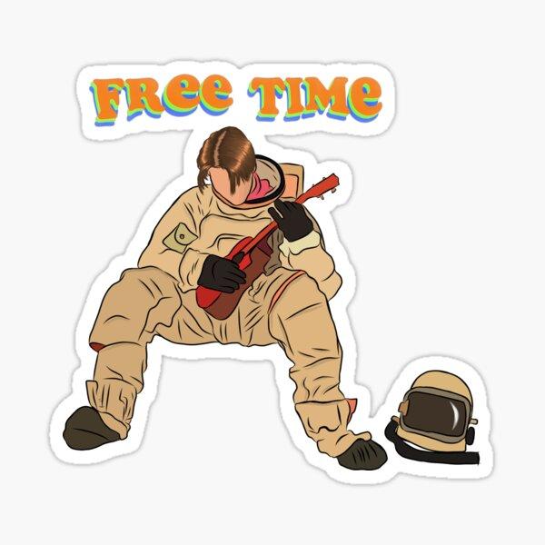 Ruel, Free Time album cover Sticker