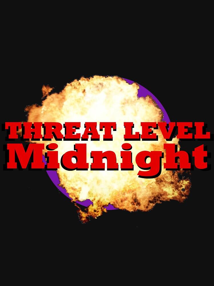 Threat Level Midnight | Unisex T-Shirt