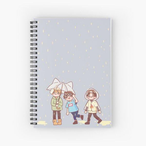 Sapnap In The Rain Artwork Spiral Notebook
