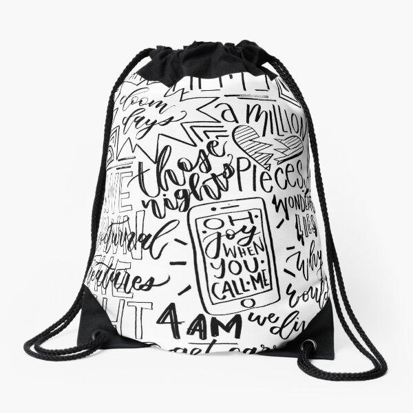 Doom Days Doodles Drawstring Bag