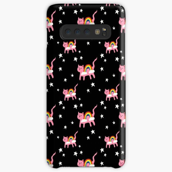 Pink Rainbow Cats in Space  Samsung Galaxy Snap Case