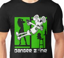 Danger Zone - green Unisex T-Shirt