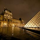 The Louvre - Paris France by mattnnat