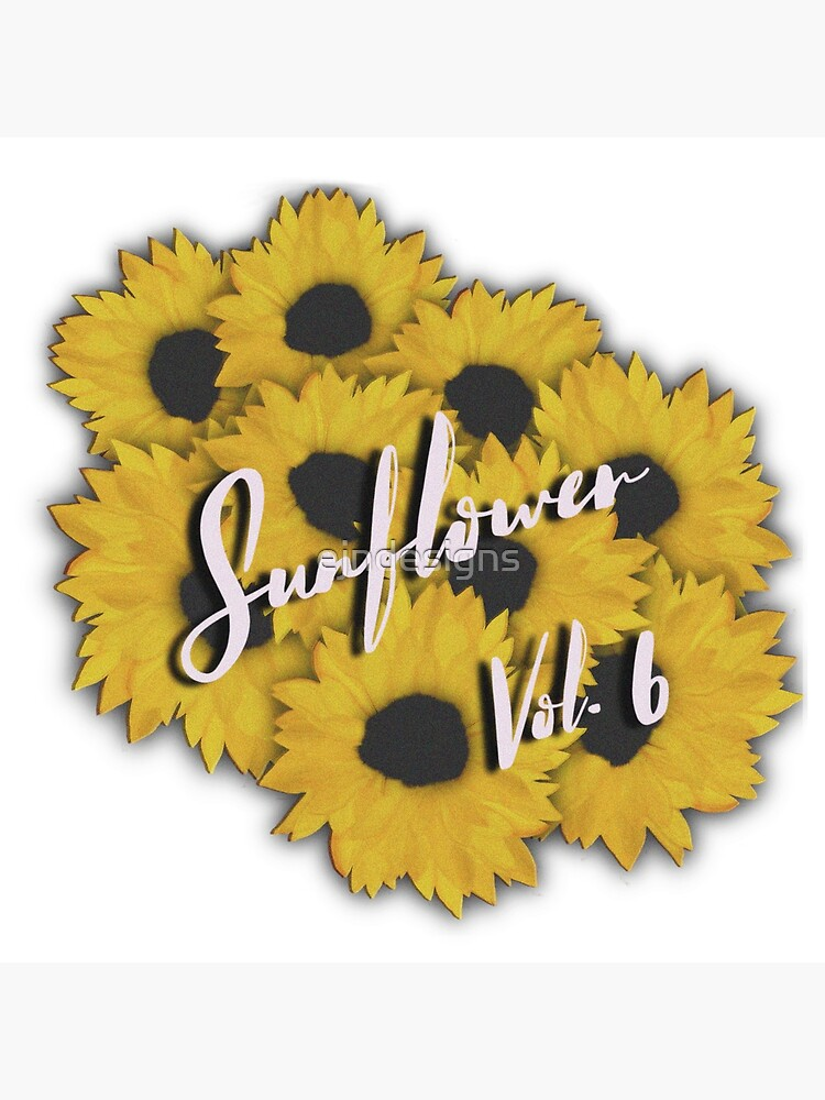 """""""SUNFLOWER VOL.6"""" Canvas Print by ejndesigns 