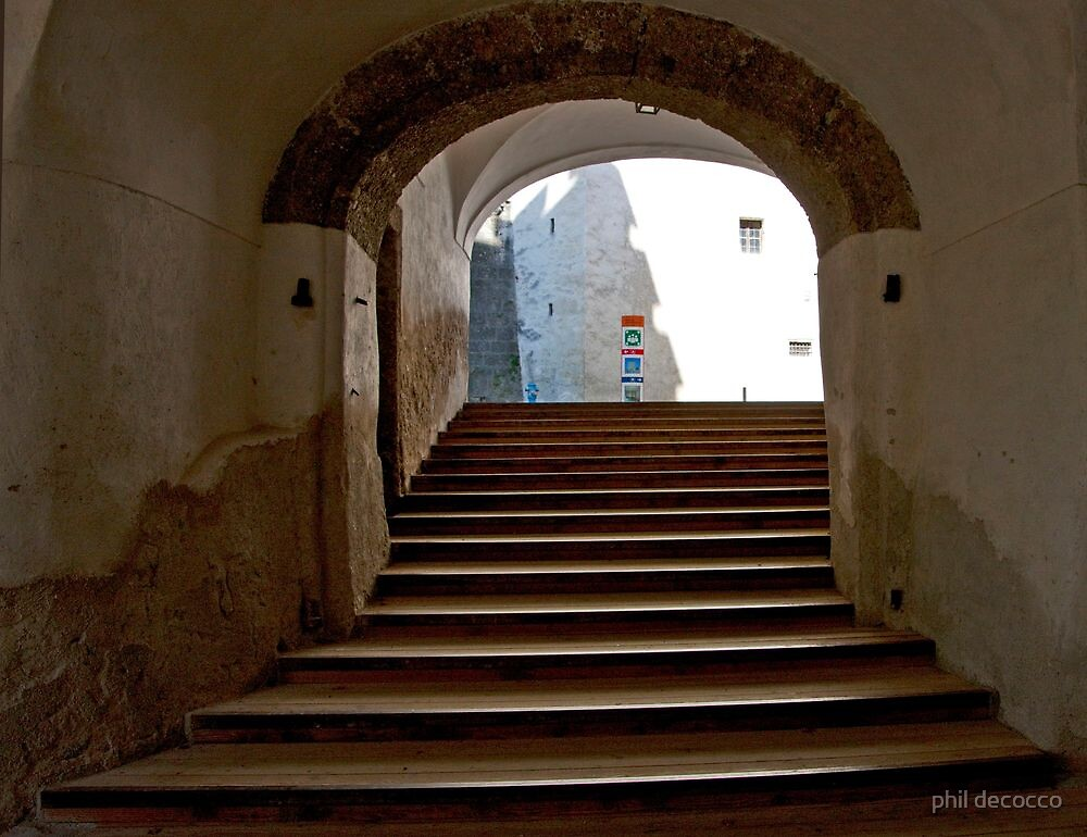 Salzburg Steps by phil decocco