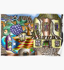 Catalonia Poster