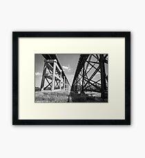 Kate Shelley High Bridge - Boone, IA Framed Print